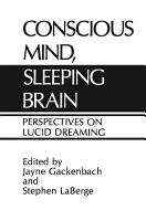 Conscious Mind  Sleeping Brain PDF