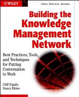 Building the Knowledge Management Network PDF