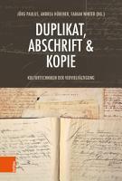 Duplikat  Abschrift   Kopie PDF
