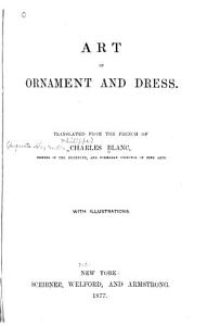 Art in Ornament and Dress PDF