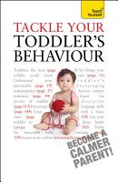 Tackle Your Toddler s Behaviour  Teach Yourself PDF