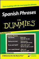 Spanish Phrases for Dummies PDF