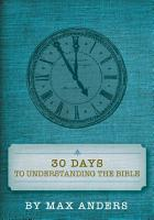 30 Days to Understanding the Bible PDF