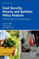 Food Security  Poverty and Nutrition Policy Analysis