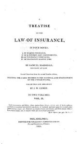 A Treatise on the Law of Insurance: Of bottomry and respondentia