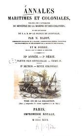 Annales maritimes et coloniales: Volume32;Volume34