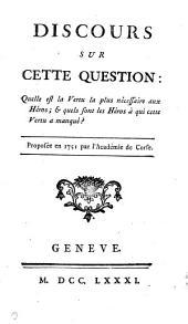 Collection complete des œuvres de J.J. Rousseau, citoyen de Geneve..: Mélanges