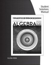 Student Solutions Manual for Aufmann/Lockwood's Intermediate Algebra: An Applied Approach, 9th: Edition 9