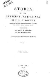 Storia della letteratura italiana di P. L. Ginguené ... Traduzione del prof. B. Perotti con note ed illustrazioni. Tomo primo [-duodecimo]: 3