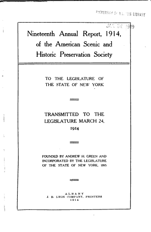 First-thirtieth Annual Report ... 1896-1925 to the Legislature of the State of New York ...