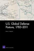 U  S  Global Defense Posture  1783 2011 PDF