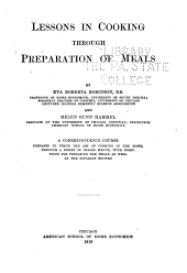 Lessons in Cooking Through Preparation of Meals