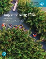 Experiencing MIS  eBook  Global Edition PDF