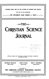 The Christian Science Journal: Volume 20