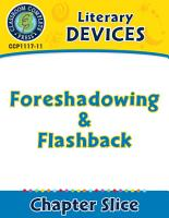 Literary Devices  Foreshadowing   Flashback PDF