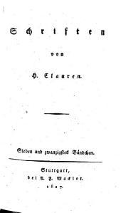 Schriften: Band 27
