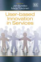 User based Innovation in Services PDF