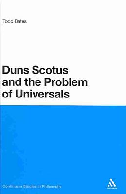 Duns Scotus and the Problem of Universals