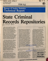 State Criminal Records Repositories PDF