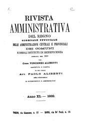 Rivista amministrativa della Repubblica italiana: Volume 40