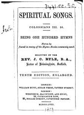Spiritual Songs ... Tenth edition, enlarged