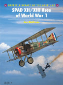 SPAD XII XIII Aces of World War 1 PDF