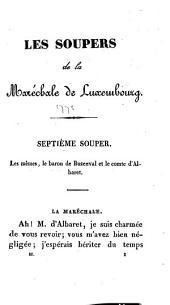 Les Soupers de la Maréchale de Luxembourg: Volume2