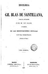 Historia de Gil Blas de Santillana, 1
