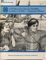 4-H Shooting Sports, Wildlife Leader's Guide