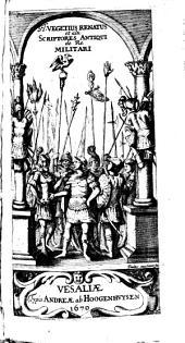 Institutorum rei militaris libri V.