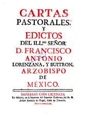 Cartas pastorales edictos