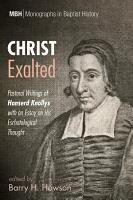 Christ Exalted PDF