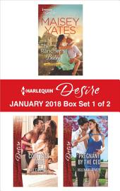 Harlequin Desire January 2018 - Box Set 1 of 2: The Rancher's Baby\Contract Bride\Pregnant by the CEO
