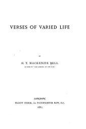 Verses of Varied Life