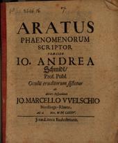 Aratus phaenomenorum scriptor