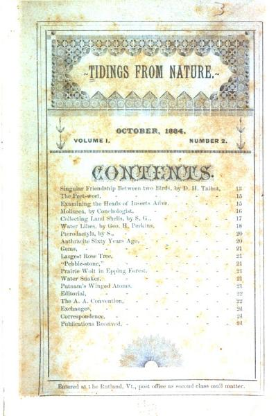 Download Tidings from Nature Book