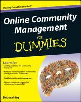Online Community Management For Dummies PDF