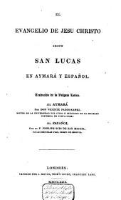 El Evangelio segun San Lucas en Aymará y Español