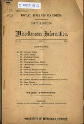 Bulletin of Miscellaneous Information: Volume 1, Issue 23