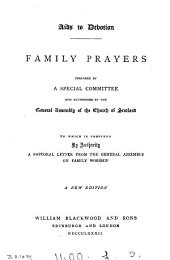 Family prayers, slected from the Prayers for social and family worship
