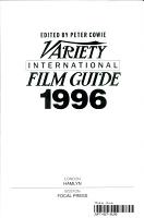 Variety International Film Guide  1996 PDF