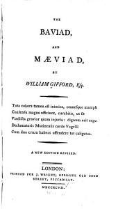 The Baviad, and Maeviad