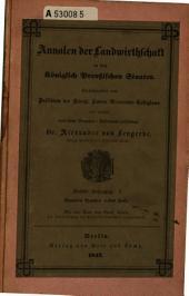 Annalen der Landwirtschaft in den königlich Preussischen Staaten: Band 9