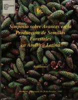 Simposio sobre Avances en la Produccion de Semillas Forestales en America Latina PDF
