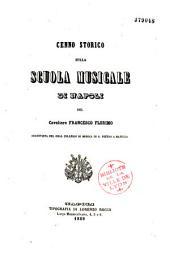 Cenno storico sulla scuola musicale di Napoli: Volume 1