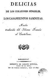 Delicias de los corazones sensibles, los casamientos samnitas: novela traducida del idioma francés al castellano