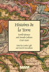 Histoires de la Terre.