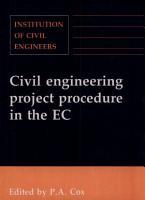 Civil Engineering Project Procedure in the EC PDF