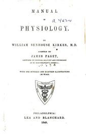 Manual of physiology