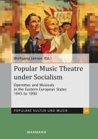 Popular Music Theatre under Socialism PDF